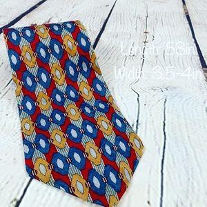 Oscar De La Renta men's neck tie 100% silk